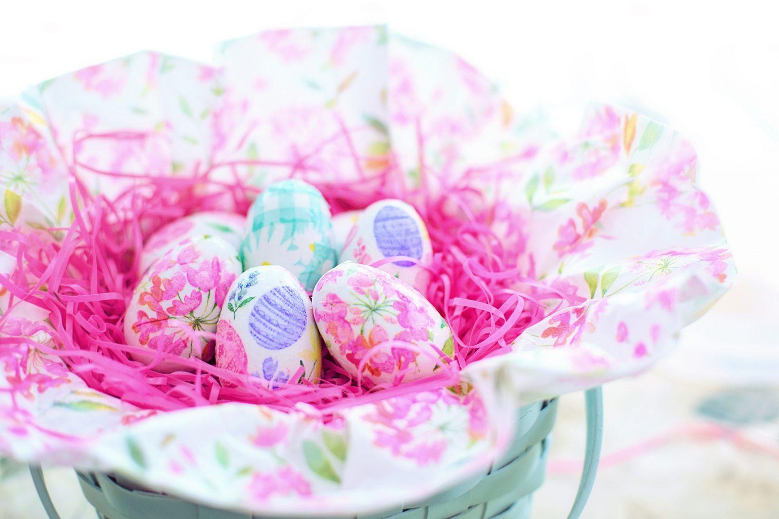 Великденски декорации за яйца